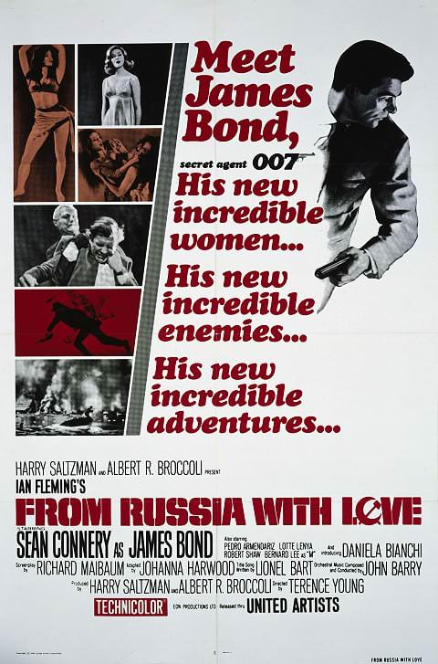 'From Russia with Love' poster (1963)