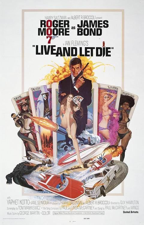 'Live and Let Die' poster (1973)