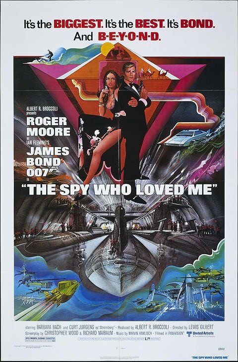 'The Spy Who Loved Me' poster (1977)
