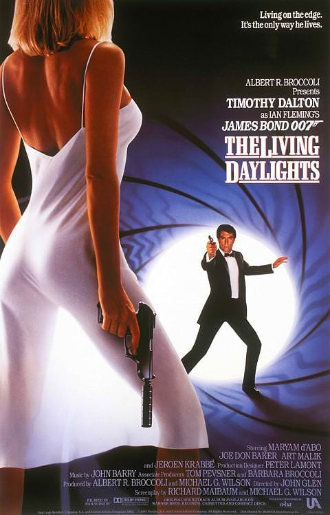 'The Living Daylights' poster (1987)