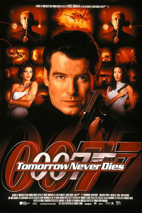 'Tomorrow Never Dies' poster (1997)