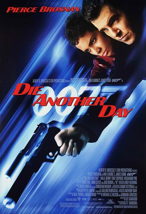 'Die Another Day' poster (2002)