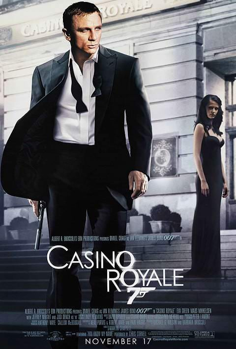'Casino Royale' poster (2006)