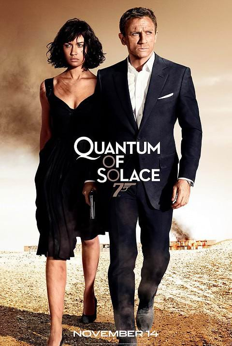 'Quantum of Solace' poster (2008)