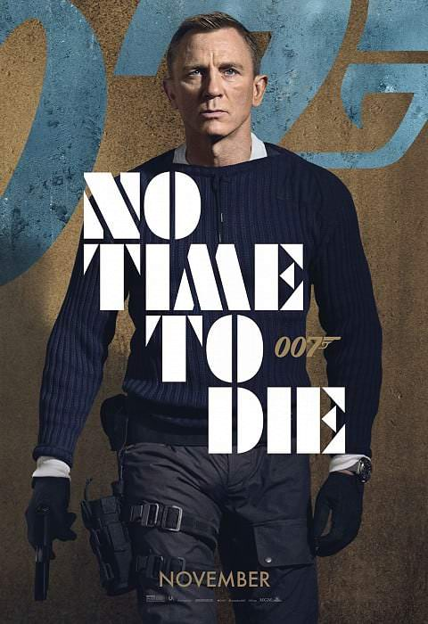 'No Time to Die' poster (2020)