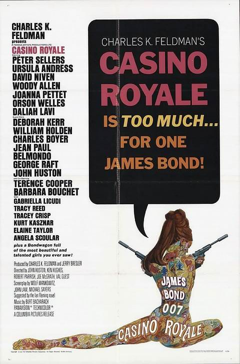 'Casino Royale (67)' poster (1967)