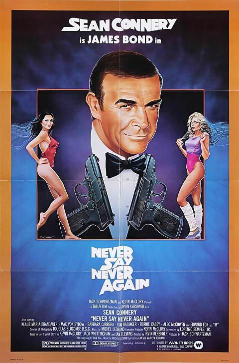 'Never Say Never Again' poster (1983)