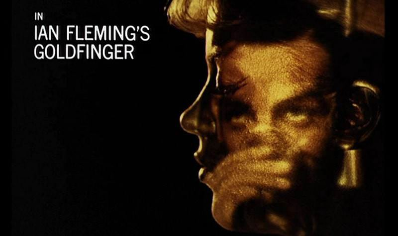 'Goldfinger' title sequence