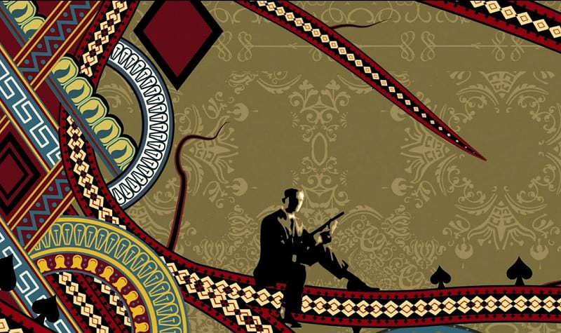 'Casino Royale' title sequence