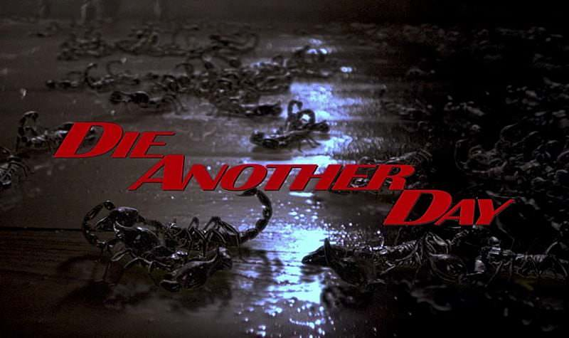 'Die Another Day' title sequence