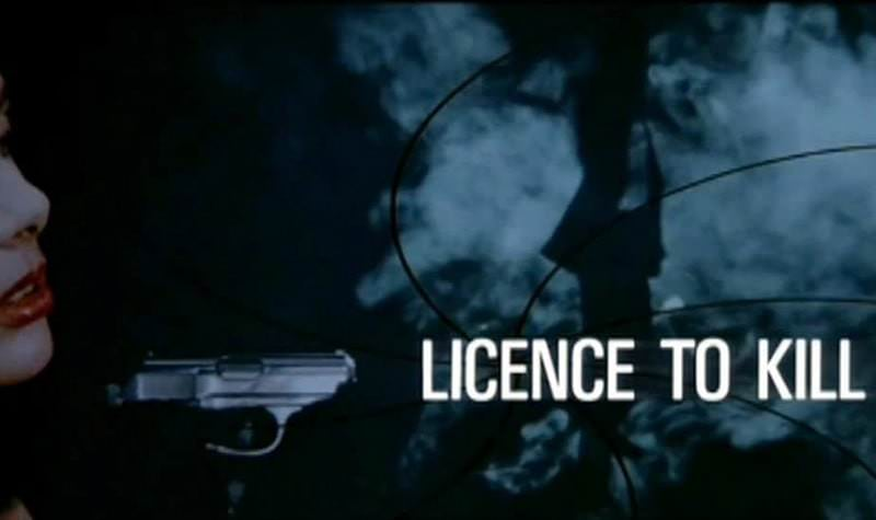 'Licence to Kill' title sequence