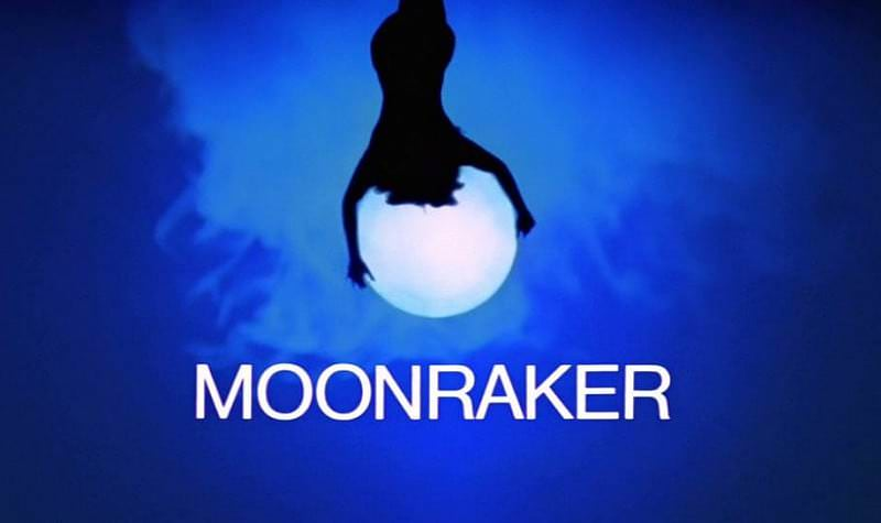 'Moonraker' title sequence