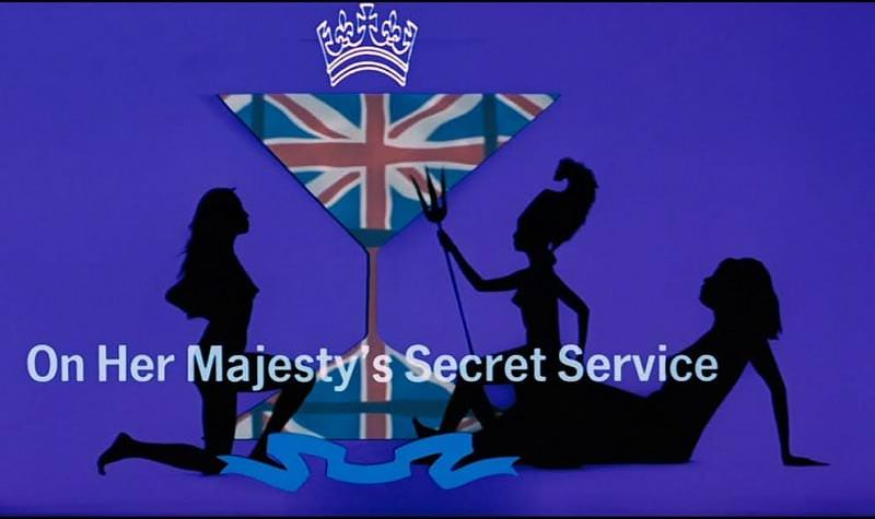 'On Her Majesty's Secret Service' title sequence