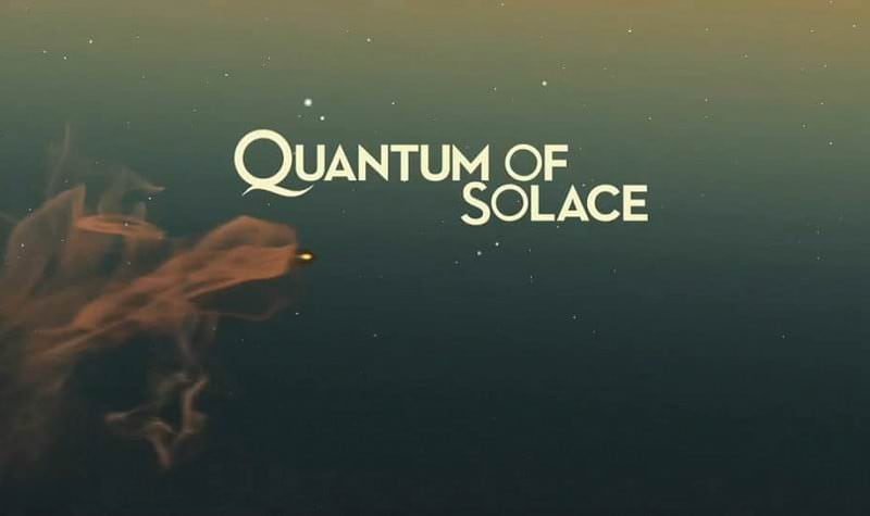 'Quantum of Solace' title sequence