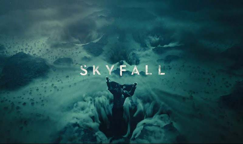'Skyfall' title sequence