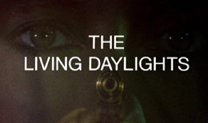 'The Living Daylights' title sequence