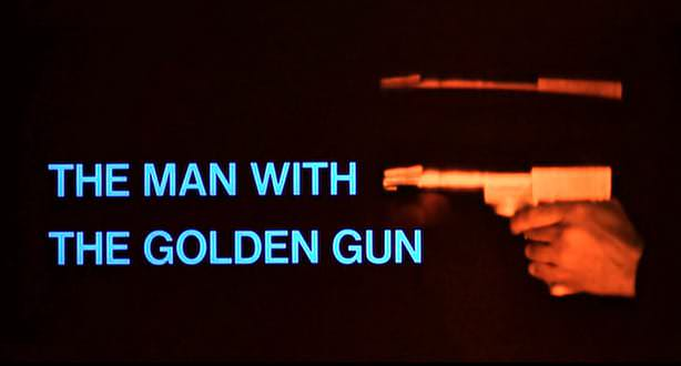 'The Man with the Golden Gun' title sequence