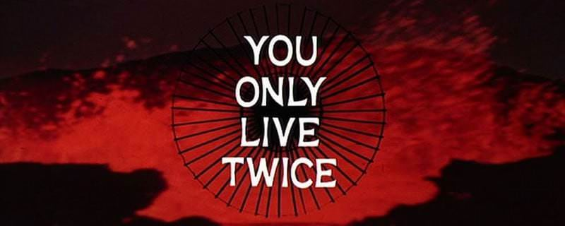 'You Only Live Twice' title sequence